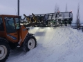 snowplowing