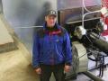 Viljan kuivaaminen. Grain drying.