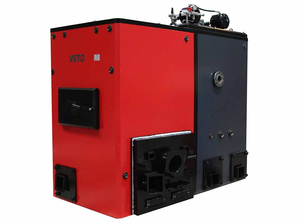 Veto 400 kW-stokerikattila (lämmitys)