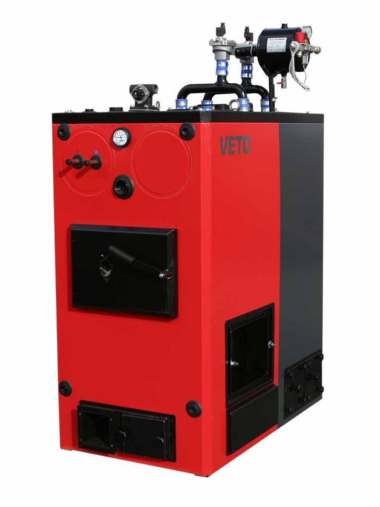 Lämmityskattila,Veto 100 kW-stokerikattila