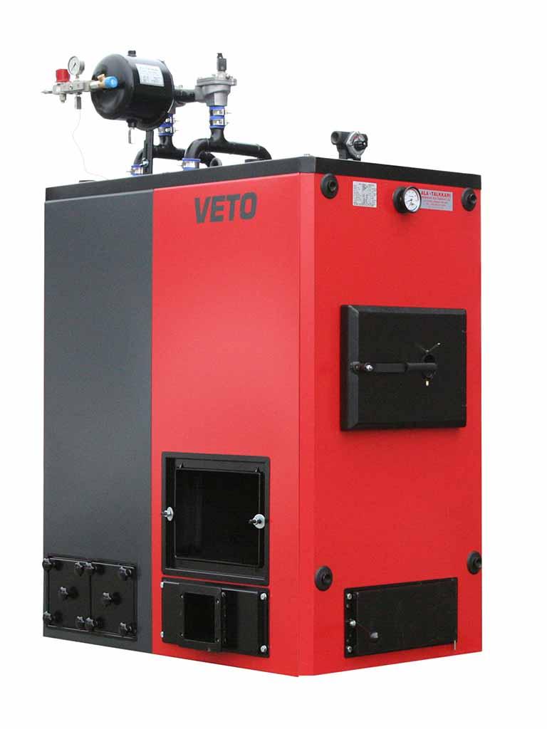 Hakekattila, Veto 120 kW-stokerikattila