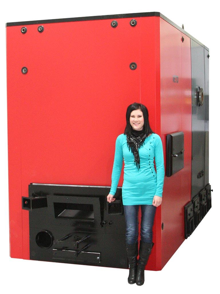 Veto 990 kW-hackschnitzelkessel
