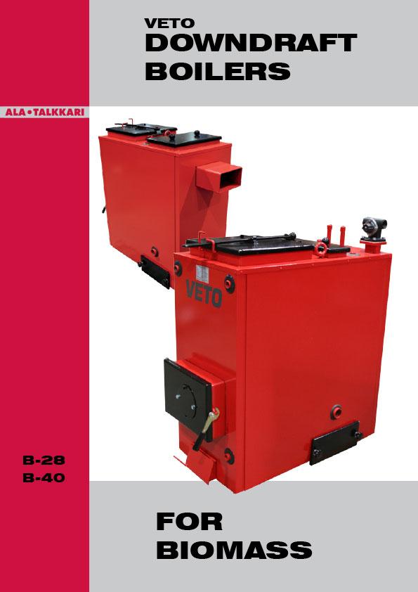 Veto-wood boiler