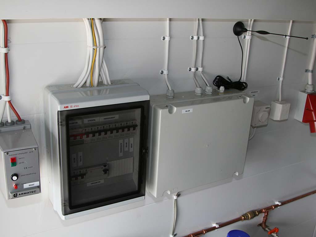 GSM alarm centre