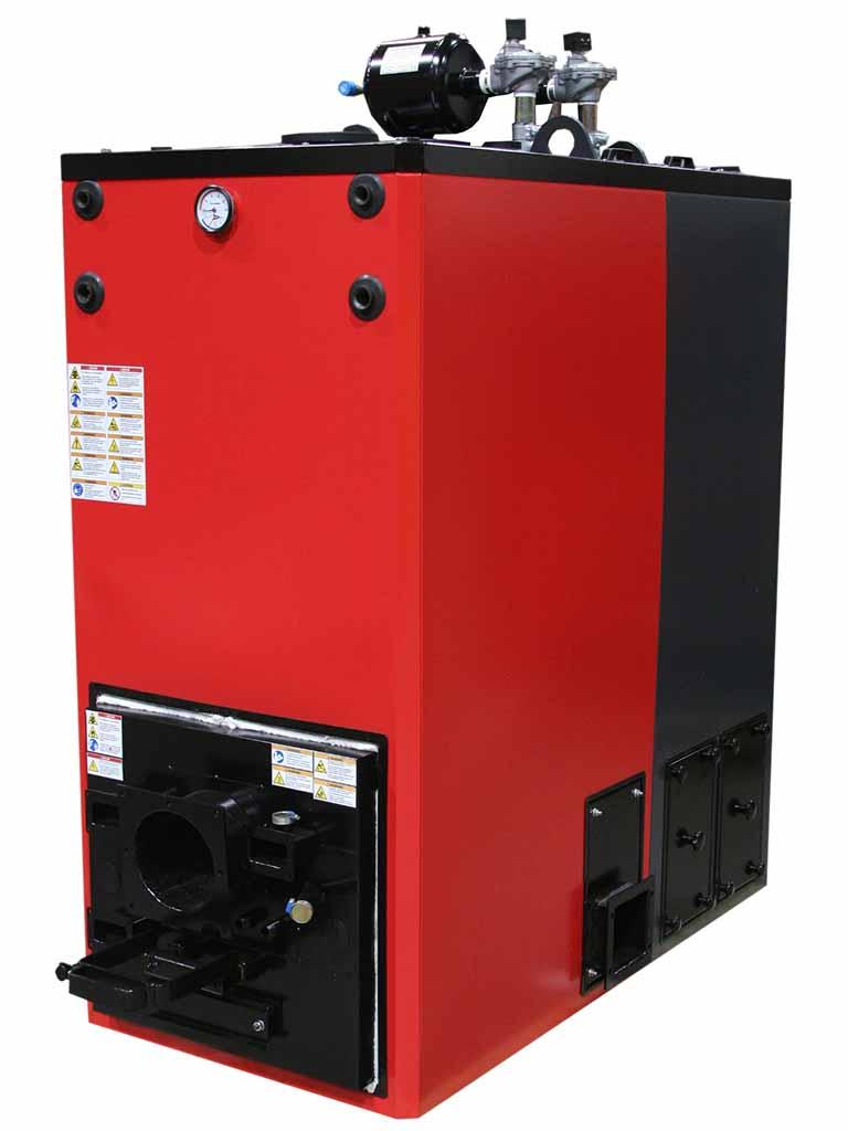 Veto 150 kW-stokerikattila (lämpö)