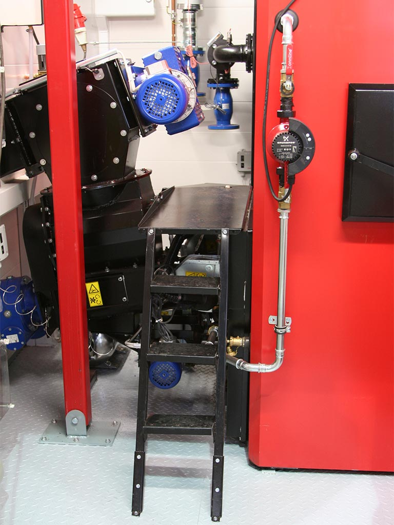 Rotary Feeder (VETO-biomass heating devices)