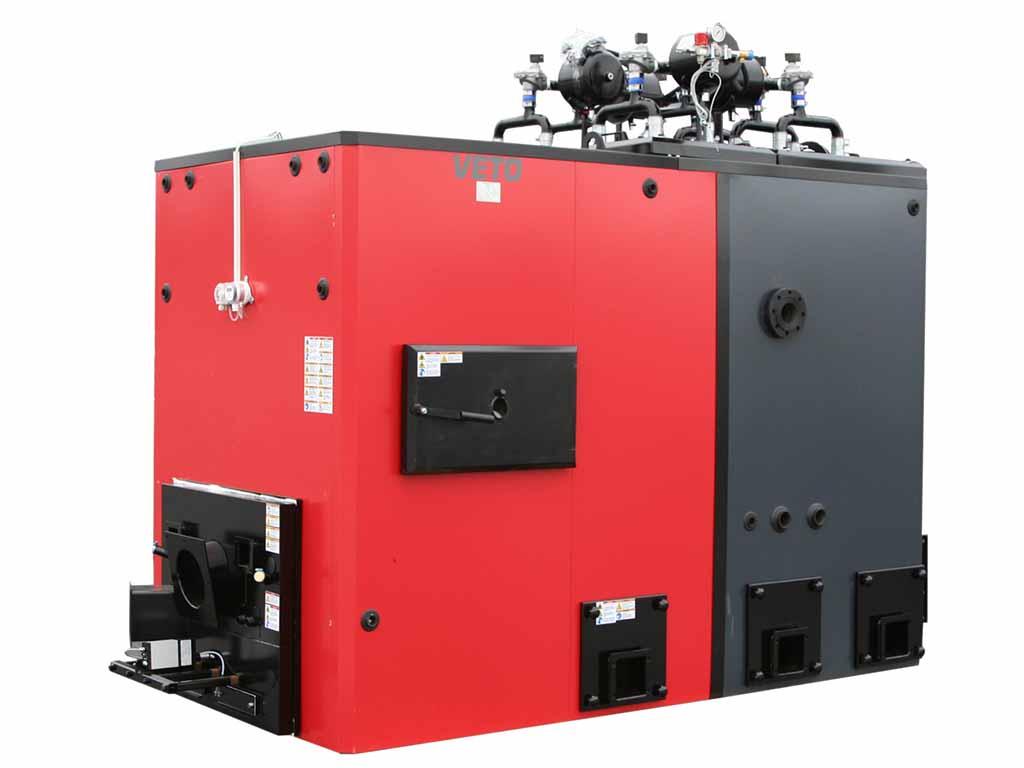 Veto 500 kW-stokerikattila (hakekattila)