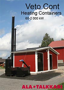 biomass heating plants 60-2000 kW (ALA-TALKKARI)