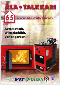 Hackschnitzelheizung - Veljekset Ala-Talkkari Oy