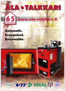 Biomass heating from Finland.