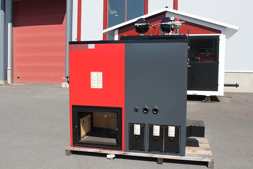 Veto 220 kW tuubikattila