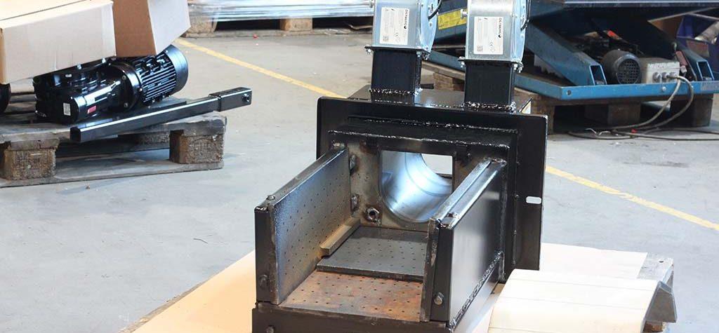 120kW poltin (liikkuva arina)