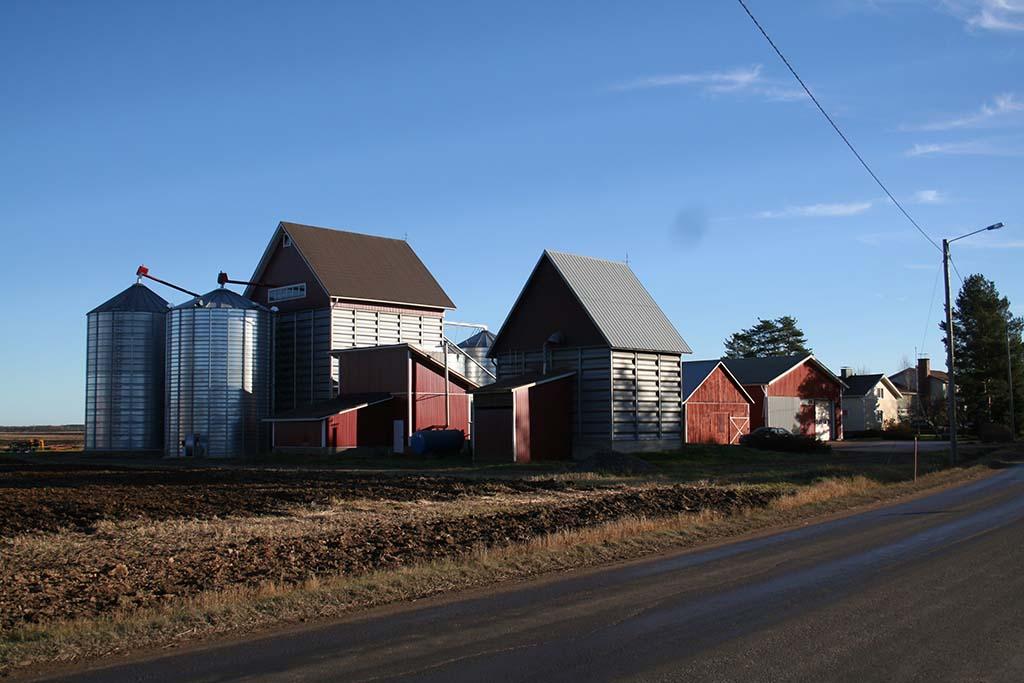 Getreidetrocknung - Veljekset Ala-Talkkari Oy