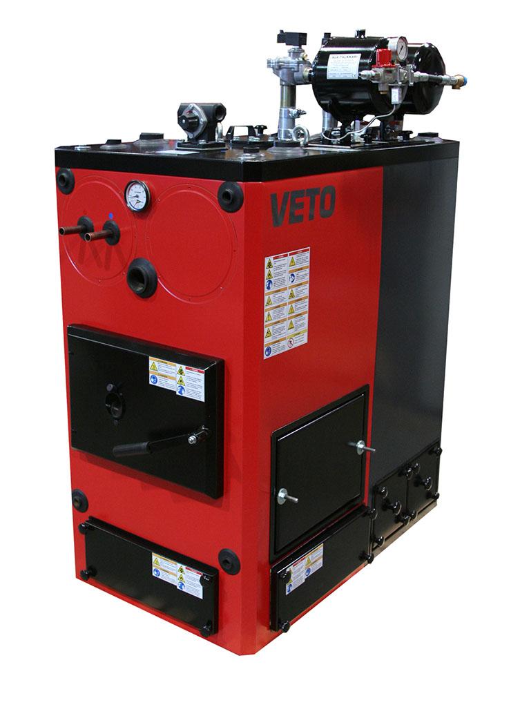Biomass heating - Veto 60 kW