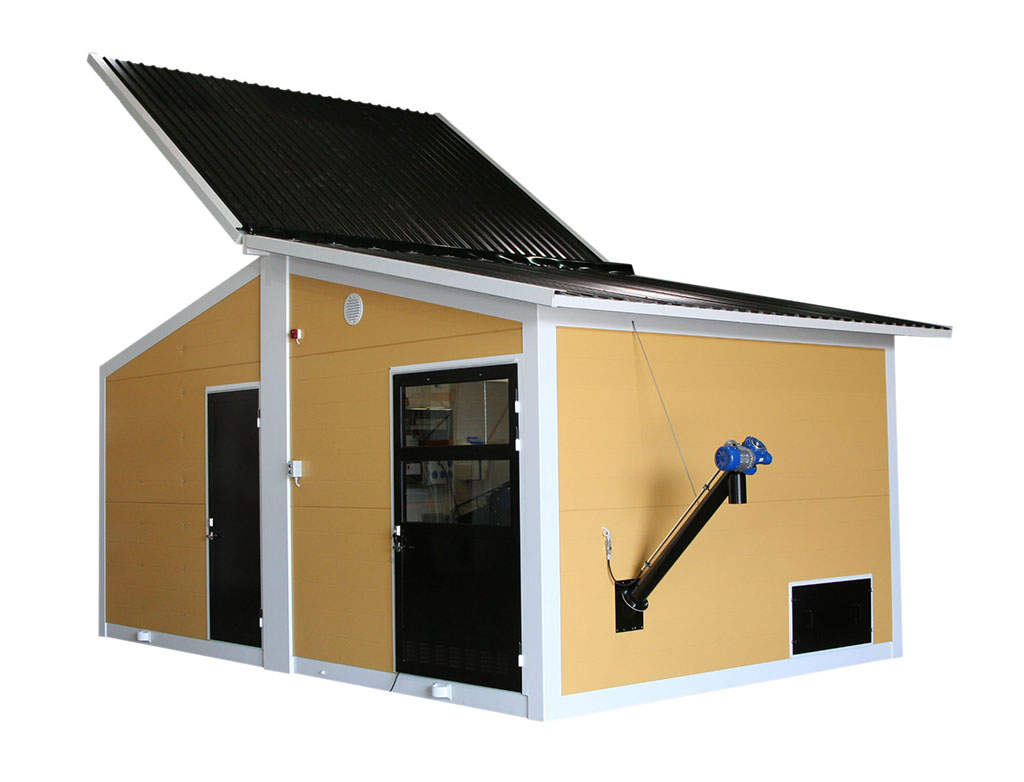 Biomass heating containers from Ala-Talkkarilta