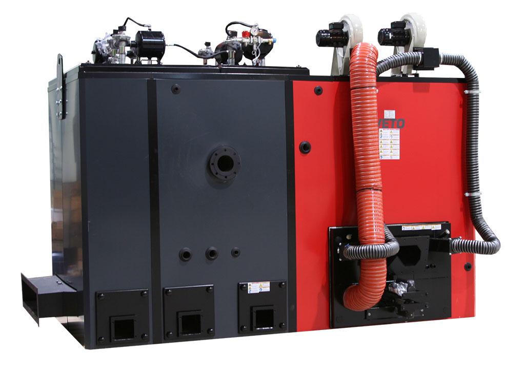 Biomass heating boiler - Veto 700 kW